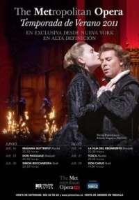 Varias óperas grabadas en el Metropolitan de Nueva York se podrán visionar en los Yelmo Cines Plaza Imperial