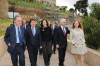 La ministra de Cultura supervisa este miércoles las obras de la catedral de Toledo
