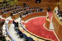 Unanimidad en la Cámara para reclamar al Gobierno central que transfiera a Galicia los trenes interregionales