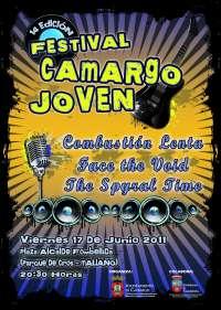 Combustión Lenta, Face the Void y The Spyral Time actúan el viernes en el XIV Festival Camargo Joven