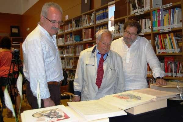 El coleccionista alcarreño Florencio de la Fuente cede 100 grabados de Salvador Dalí a la Escuela Cruz Novillo de Cuenca
