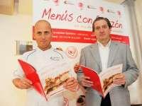 Seis chefs con Estrella Michelin participan en la campaña 'Menús con Corazón' para crear recetas saludables