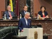Valcárcel, reelegido presidente de la Comunidad Autónoma de Murcia por quinta legislatura
