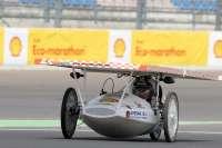 El prototipo de coche solar de la UCAM concluye como primero de España en la Shell Eco Marathon