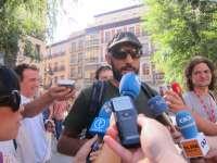 Una treintena de 'indignados' salen de Toledo para reunirse con asambleas de otras ciudades el día 24 en Madrid