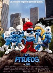 Los pitufos - Cartel