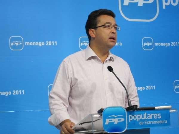 El PP recuerda a Vara que a los extremeños preocupan