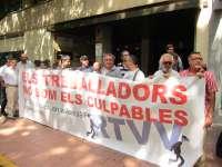 Los sindicatos rechazan la reelección de López Jaraba como director general de RTVV y piden transparencia en su gestión