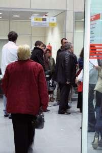 El número de desempleados aumenta en 2.829 personas en agosto en Murcia, situándose en 133.089 personas