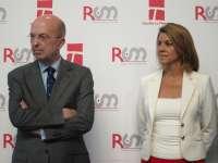 Cospedal insiste en que la privatización de RTVCM se producirá en cuanto una ley nacional lo permita