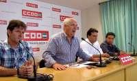CCOO-A exige a Junta, Gobierno y Ayuntamiento que busquen solución a la financiación del astillero