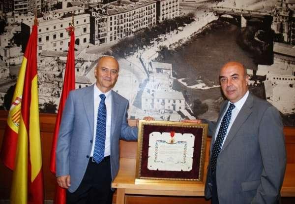 El Hospital General Universitario Reina Sofía recibe la Medalla de Oro de la Ciudad de Murcia