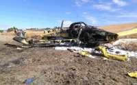 Fuera de peligro el piloto herido en el accidente del avión del Infoca que iba a extinguir un incendio