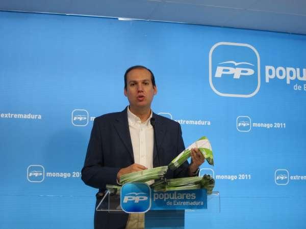 El PP extremeño recuerda que el PSOE montó