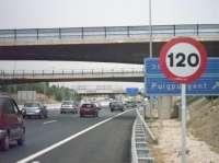 Concluyen las obras del tercer carril de la vía cintura entre la carretera de Valldemossa y el túnel de Gènova