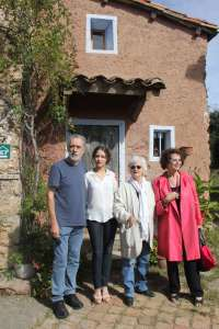Fernando Trueba rueda en Girona con Claudia Cardinale y en blanco y negro
