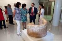 Inaugurada la exposición 'Itacas', de Teresa Esteban, en la Sala de Arte 'El Brocense' de Cáceres