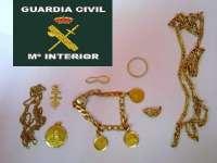 Detienen a un hombre por robar joyas en una vivienda de Cortes de la Frontera para su posterior venta