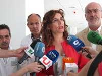 Montero destaca la apuesta de Rovi por Andalucía con su fábrica de vacunas, cuyo proyecto se presenta el lunes