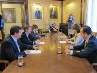 UPN y PSN reafirman la vigencia del pacto y muestran su compromiso de hacerlo valer durante toda la legislatura