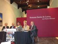Bordados de la Semana Santa lorquina recorrerán España para sensibilizar sobre los daños del seísmo
