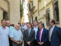 El callejón de San Pedro, en Toledo, luce renovado tras nueve meses de obras de rehabilitación