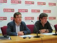 CCOO Extremadura reclama al Gobierno regional que las reestructuraciones supongan un