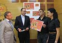 Villalón de Campos (Valladolid) celebra la 'I Feria del queso y del vino' bajo el lema 'Villalón se escribe con Q'