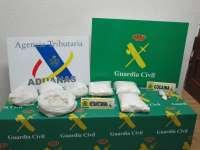 Agencia tributaria y Guardia Civil aprehenden 7 kilos de metanfetamina en Alegría (Álava)