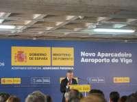 Inaugurado el nuevo aparcamiento del aeropuerto de Peinador (Vigo) con 2.500 plazas
