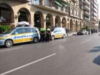 La Policía Local detecta cinco positivos de conductores a través del 'drogotest'