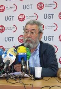 Cándido Méndez participa este viernes en Mérida en una asamblea de delegados de UGT