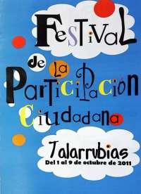 Los ciudadanos de Talarrubias toman la palabra en el I Festival de la Participación Ciudadana