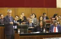 Griñán propone un Pleno extraordinario en enero para hacer un balance de legislatura y abordar propuestas de futuro