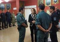 Más de 200 agentes de la Gendarmería Europea participan en Logroño durante dos semanas en sus maniobras anuales