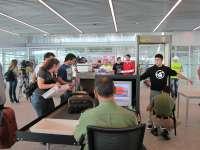 La nueva terminal de Lavacolla registra