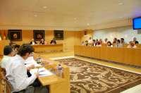 El pleno de la Diputación aprueba las cuentas de 2010 con el rechazo de PP e IU-CA y la abstención del PA