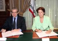 Unicaja y el BEI firman un acuerdo para aportar financiación a la autopista Málaga-Las Pedrizas