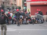 Ayuntamiento de Bilbao, con el rechazo de Bildu, pide a Kukutza que condene los actos de violencia de los últimos días