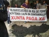 Dados de alta los heridos en el enfrentamiento entre mariscadores y un conductor en Ferrol