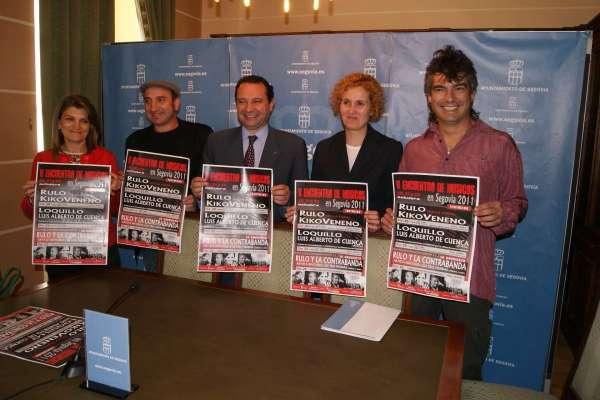 El cantante Loquillo será homenajeado en el V Encuentro de Músicos de Segovia por su dilatada carrera