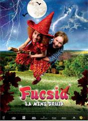 Fucsia, la pequeña bruja - Cartel