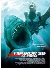 Tiburón 3D. La presa - Cartel