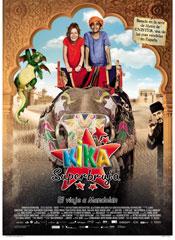 Kika Superbruja: El viaje a Mandolán - Cartel