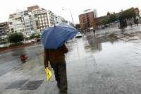 El 112 establece para este lunes la alerta amarilla por lluvias en la provincia de Cáceres