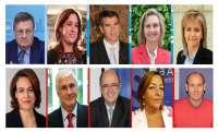 25 hombres y 16 mujeres defenderán los intereses de los castellano-manchegos en el Congreso y en el Senado