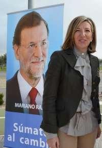 Blanca Puyuelo (PP-PAR) resalta la victoria de una candidatura