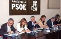 Griñán, partidario del congreso del PSOE antes de las autonómicas y de Rubalcaba en el debate de investidura