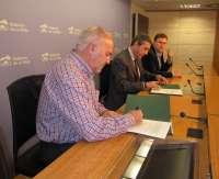 El Gobierno financia con 100.000 euros las líneas de autobuses de Alberite y Villamediana