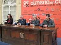 Enrique Cerezo recibe el 'Almería, tierra de cine' convencido de que el 'western'